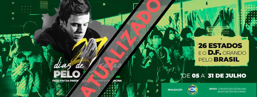 Campanha 27 dias de oração pelo Brasil